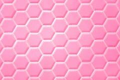 Fond abstrait, hexagone en céramique Hexagones géométriques photo stock