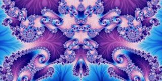 Fond abstrait horizontal fabuleux avec le modèle en spirale vous illustration stock