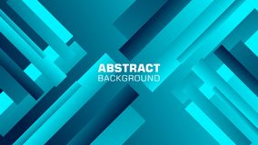 Fond abstrait incliné de forme de rectangle dans la couleur bleue illustration libre de droits