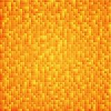 Fond abstrait jaune de Tetris Modèle de différentes pièces Photographie stock libre de droits