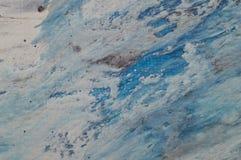 Fond abstrait marin marbré Modèle de marbre acrylique liquide Photos libres de droits