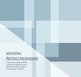 Fond abstrait moderne avec l'espace des textes dans le ton bleu Photographie stock