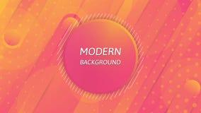 Fond abstrait moderne, conception colorée de papier peint illustration stock