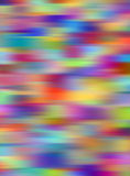 Fond abstrait multicolore vibrant de tache floue. Photographie stock