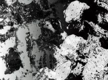 Fond abstrait noir et blanc Image stock