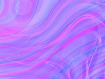 Fond abstrait ondulé Image libre de droits