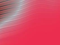 Fond abstrait ondulé rouge Images libres de droits