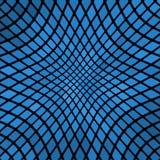 Fond abstrait onduleux bleu de mosaïque Photos libres de droits