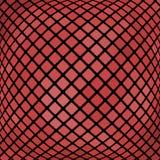 Fond abstrait onduleux rouge de mosaïque Photographie stock