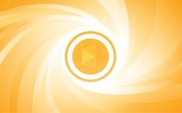 Fond abstrait orange Images stock