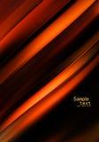 Fond abstrait orange illustration stock