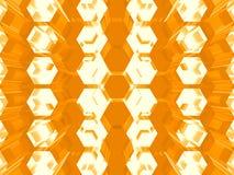 Fond abstrait orange Photographie stock libre de droits