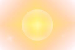 Fond abstrait orange avec le cercle Image libre de droits