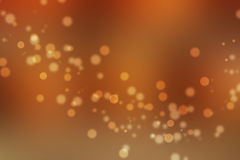 Fond abstrait orange de bokeh images stock