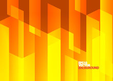 Fond abstrait orange lumineux Photo stock