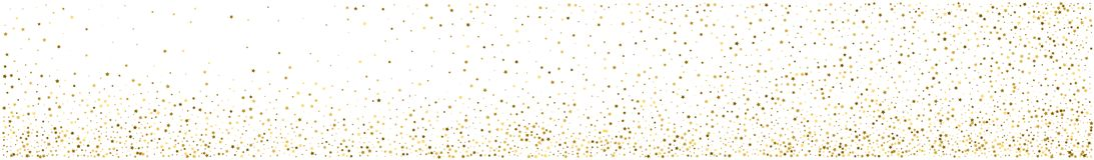 Fond abstrait panoramique Confettis d'étoile d'or illustration stock