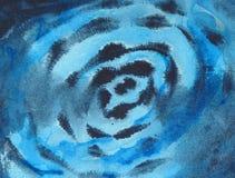 Fond abstrait - peinture de watercolour Images libres de droits
