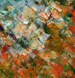 Fond abstrait, peintures à l'huile Images libres de droits
