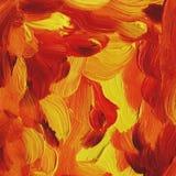 Fond abstrait, peintures à l'huile Images stock