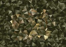 Fond abstrait polygonal Agrafe art Images stock