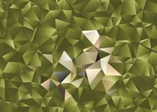Fond abstrait polygonal Agrafe art Photos stock