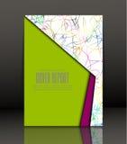 Fond abstrait pour la brochure, couverture Calibre pour l'affiche Vecteur Photo libre de droits