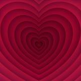 Fond abstrait pour le jour de valentines Photographie stock