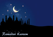Fond abstrait pour Ramadan Kareem, Image libre de droits