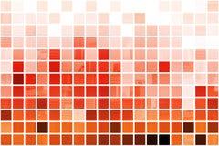Fond abstrait professionnel cubique orange Image libre de droits