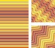 Fond abstrait réglé de couleur ligne modèle pour le tissu illustration stock