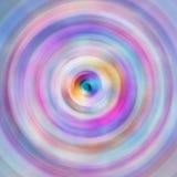 Fond abstrait radial dans des tons colorés Images libres de droits