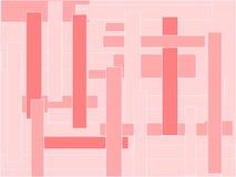 Fond abstrait rose Images libres de droits