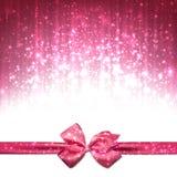 Fond abstrait rose de Noël illustration libre de droits