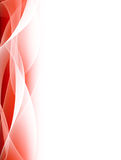 Fond abstrait rouge Images libres de droits