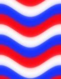 Fond abstrait, rouge coloré, blanc et bleu Photo libre de droits