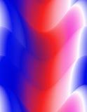 Fond abstrait, rouge coloré, blanc et bleu Photographie stock libre de droits