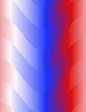 Fond abstrait, rouge coloré, blanc et bleu Image libre de droits