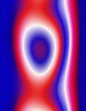 Fond abstrait, rouge coloré, blanc et bleu Photos libres de droits