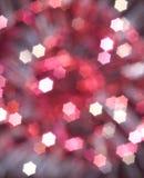 Fond abstrait rouge de Noël Images stock