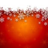 Fond abstrait rouge de Noël Image stock