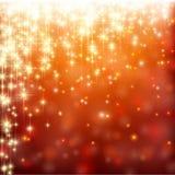 Fond abstrait rouge de Noël Image libre de droits