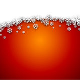 Fond abstrait rouge de Noël Photographie stock