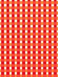 Fond abstrait rouge de rubans Photo libre de droits