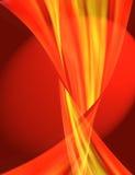 Fond abstrait rouge et jaune Photo libre de droits