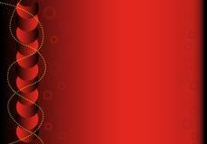 Fond abstrait rouge et noir avec l'espace de copie Image libre de droits