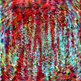 Fond abstrait rouge radial Photo libre de droits
