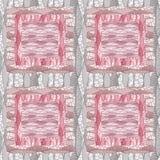Fond abstrait sans couture de gris de modèle de patchwork illustration stock