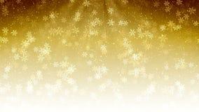 Fond abstrait sans couture de Noël avec la neige et les flocons de neige de vol Graphique fait une boucle de mouvement illustration de vecteur
