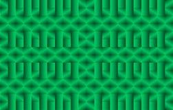 Fond abstrait sans couture de vecteur vert, modèle Photographie stock libre de droits