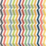 Fond abstrait sans couture fait à partir des bandes colorées avec l'illusion du volume Image libre de droits